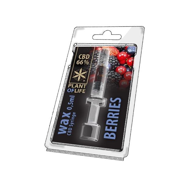 66% CBD Wax Berries
