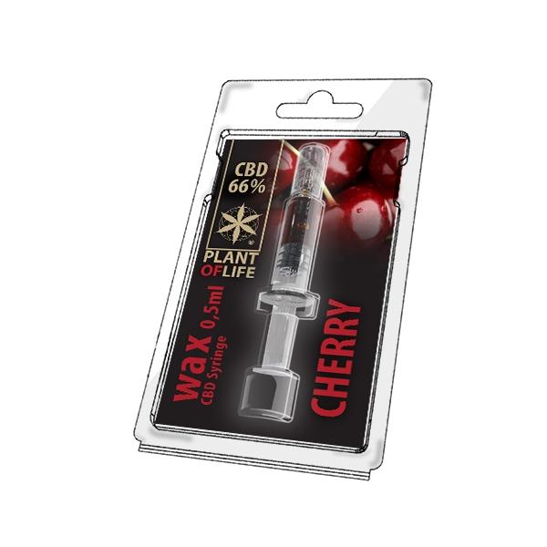 66% CBD Wax Cherry